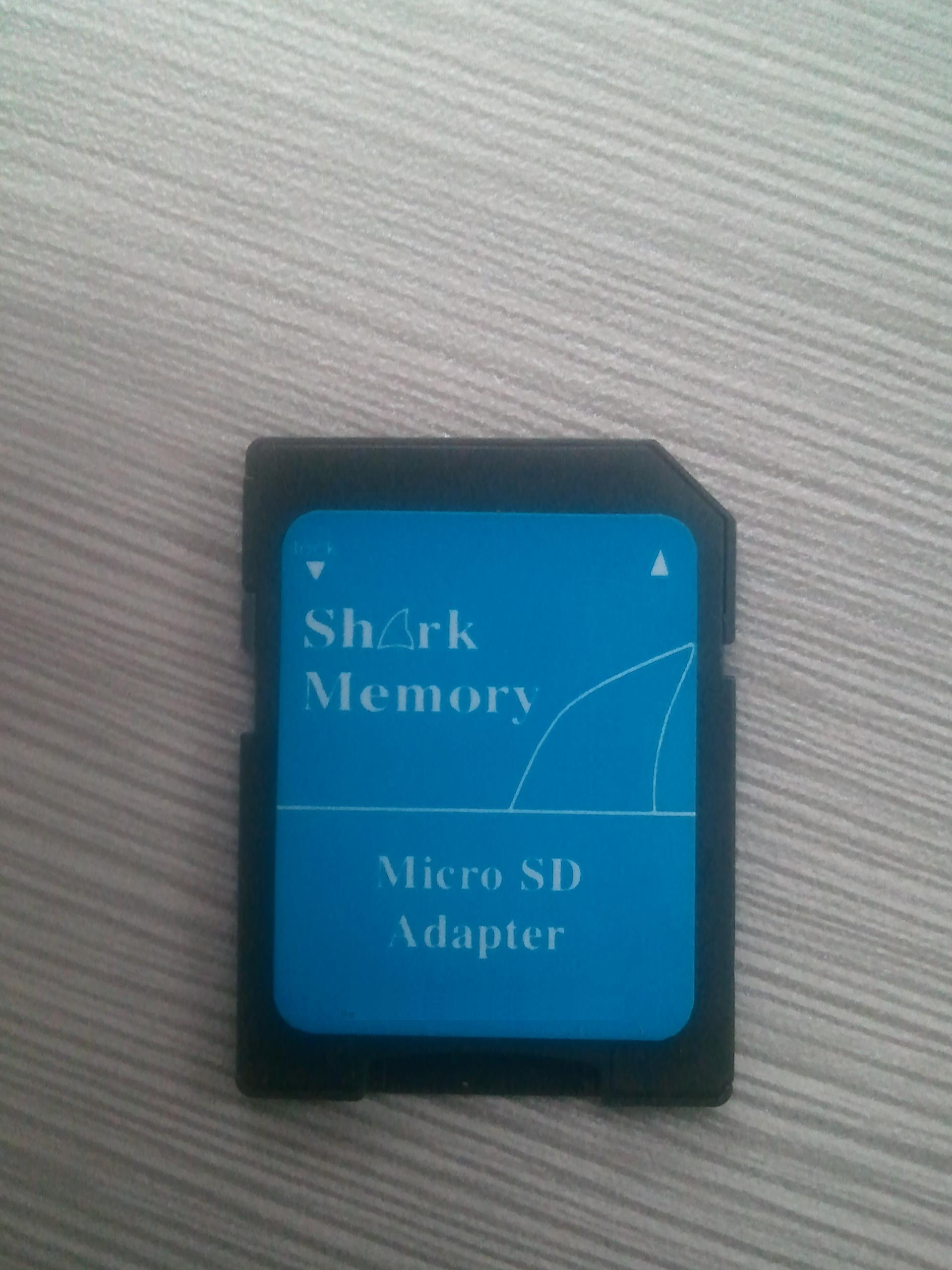 Shark 32GB Class 4 Micro SDHC Memory Card with SD Adapter