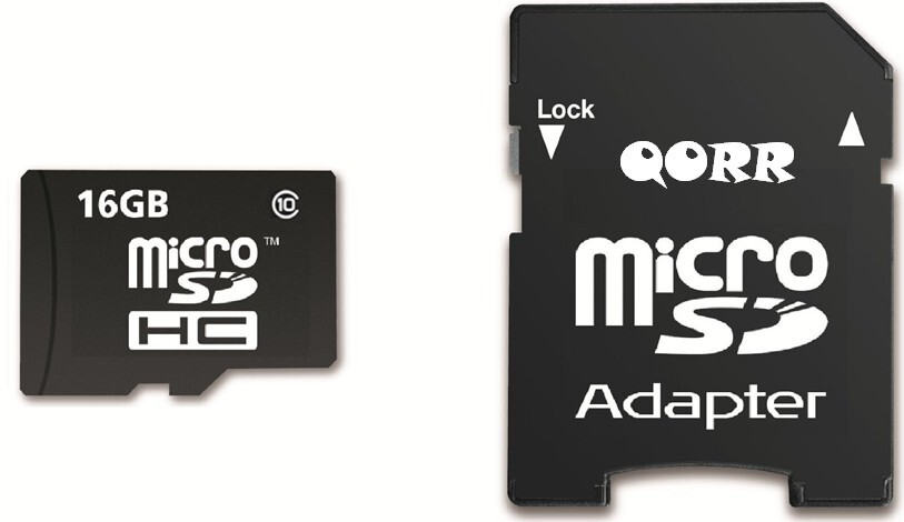 Qorr 16GB Micro SD Memory Card with SD Adapter for ASUS